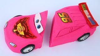 DIY Colors Kinetic Sand New Cars Movies Lighning Mcqueen Disney Pixar Kinetic Sand