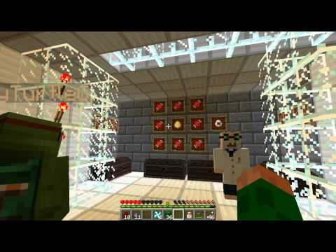 Minecraft   ROBOT DINOSAURS AND LASER GUNS! Mad Scientist lab