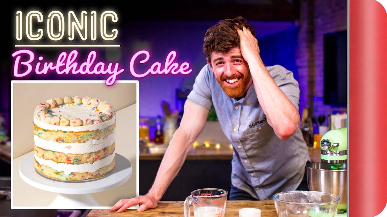 A Chef Tries to Bake This ICONIC Cake   Momofuku Milk Bar Birthday Cake