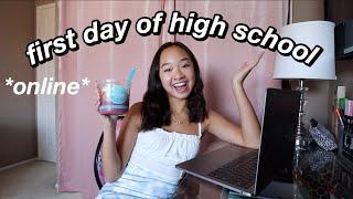 FIRST DAY OF HIGH SCHOOL *9th grade* (grwm & vlog)   Nicole Laeno