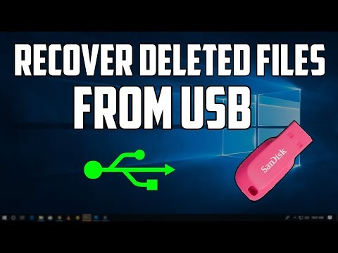 How to Recover Deleted/Formatted Files from Pen Drive
