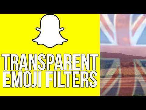 Snapchat Hacks - New Snapchat Transparent Filters Using Stickers/Emojis