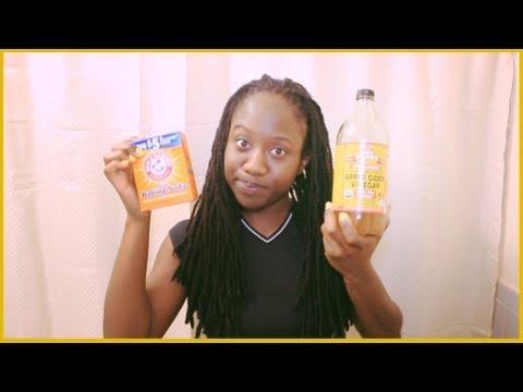 Loc Maintenence | Clarifying ACV Rinse w/ Baking Soda #JazzyJune Day 5 | JASMINE ROSE