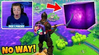FORTNITE CUBE VOLCANO EVENT IS CANCELED??? Loot Lake Watching + Theories! (Fortnite)