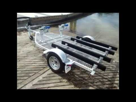 Seatrail DBLSUPWC Double Jet Ski Trailer