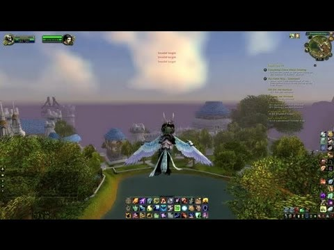 How to Control Flying Mounts in WoW : World of Warcraft Game Tasks