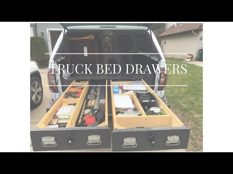 TRUCK BED DRAWERS!! (4 year update!!)