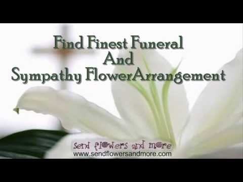 Find Finest Funeral And Sympathy Flower Arrangement