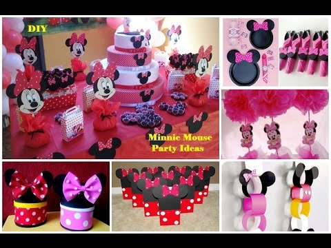 DIY Minnie Mouse Party Ideas / 30 Ideas para fiesta de Minnie Mouse