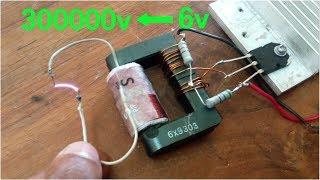 6v to 300000v High voltage generator ||  SK creatives