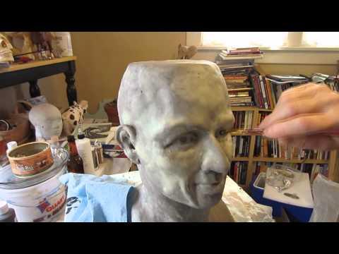 Paper Mache Head, Part 1