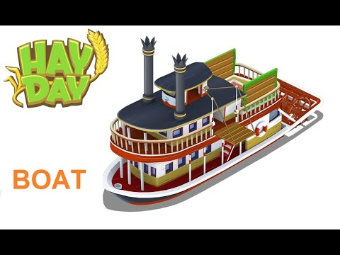 Hay Day/ Boat Order Fast Complete