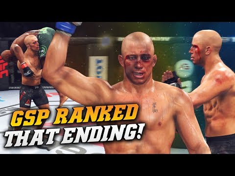 THAT ENDING THOUGH! The Best Fight I've Had On EA Sports UFC 3 [RANKED GAMEPLAY]