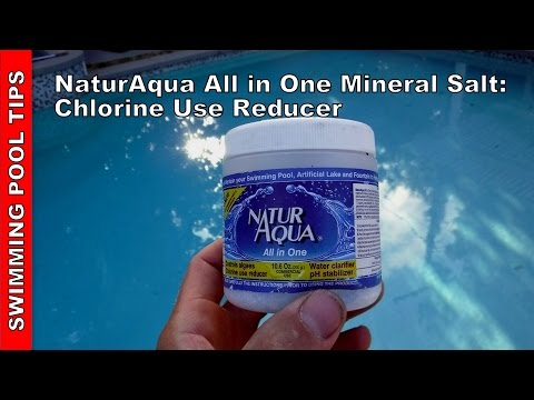 NaturAqua All in One Mineral Salt Chlorine Use Reducer