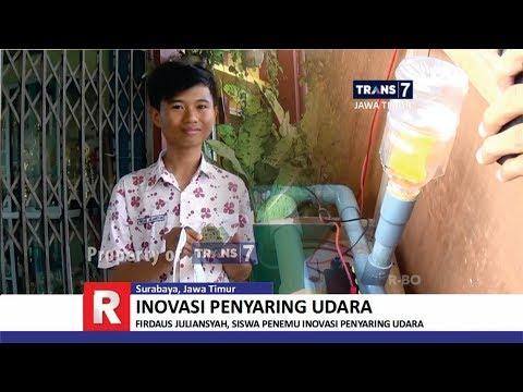 TRANS7 JAWA TIMUR - Inovasi Penyaring Udara Siswa SMAN 12 Surabaya