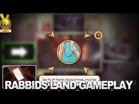 Rabbids Land: To Catch A Thief Gameplay