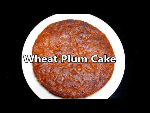 Whole Wheat Plum Cake Recipe   Easy Plum Cake Without Alcohol   Instant Plum Cake   പ്ലം കേക്ക്