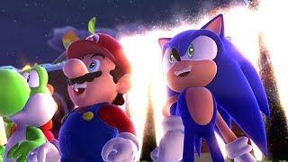 Mario & Sonic At The Sochi 2014 Olympic Winter Games - Playthrough [part 1 - Leg. Showdown - Area 1]