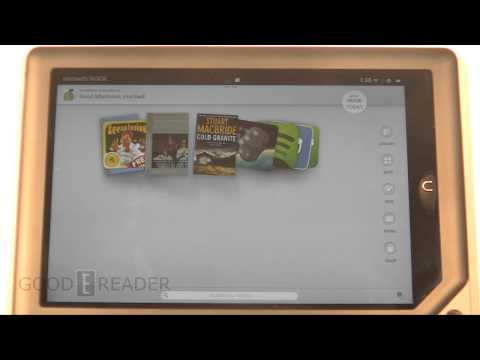 How to take screenshots on the Nook HD+