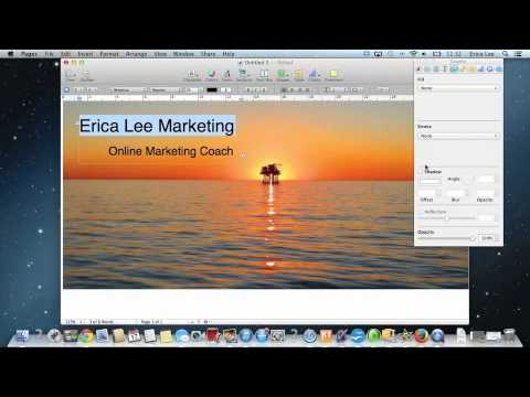 How to create facebook timeline cover photo using Apple Mac