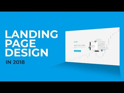 Landing Page Tutorial for 2018 - Part 1 of 2 (Design)