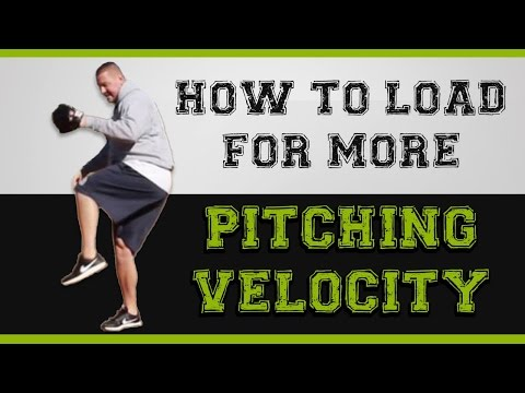 How to load to increase pitching velocity