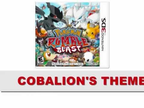 Pokemon Rumble Blast Soundtrack - COBALION'S THEME