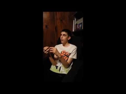 Autistic teen talks about when he was non-verbal.