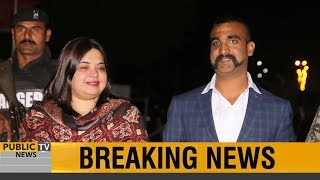 Captured IAF pilot Abhinandan handed over to Indian authorities at Wagah border