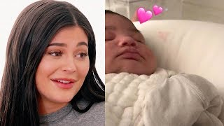 Kylie Jenner Shows Off Baby Stormi