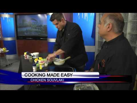 Chef Gary's Heart Healthy Chicken Souvlaki