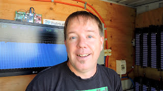 18650 real world load test - 63 hours to run from 57.4v to 49v not bad from recycled laptop battery