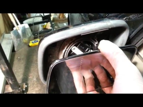 How to change Side Mirror Glass, Volvo S70/V70