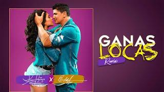 Karen Lizarazo & Eddy Herrera - Ganas Locas Remix (Video Oficial)