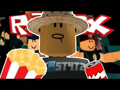 WATCHING MOVIES WITH FRIENDS IN ROBLOX!!