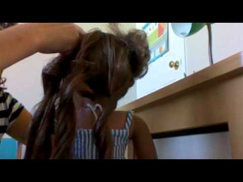 How to curl your dolls hair without a curling iron!