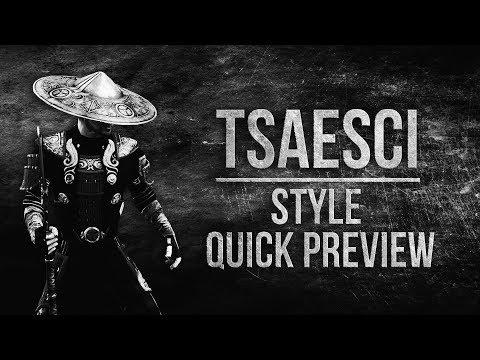 ESO Tsaesci Motif - Preview of the Tsaesci Style in The Elder Scrolls Online