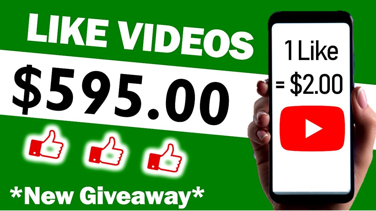 Get Paid $595 To Like YouTube Videos (FREE) Make Money Online | Branson Tay