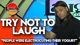 Try Not to Laugh | People Were Electrocuting Their Yogurt | Laugh Factory Stand Up Comedy