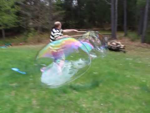 how to make Giant bubbles wand and mix kit
