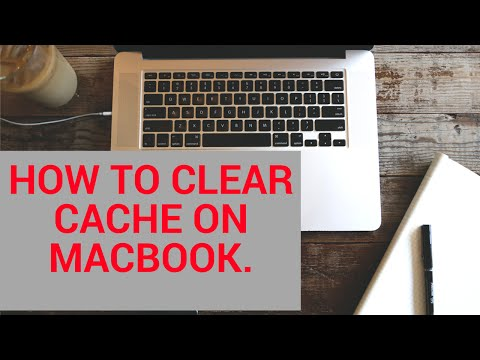 How to clear Cache on  macbook / How to delete temporary files on macbook