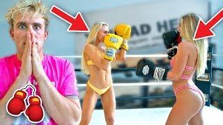 Hot Girl Boxing Match