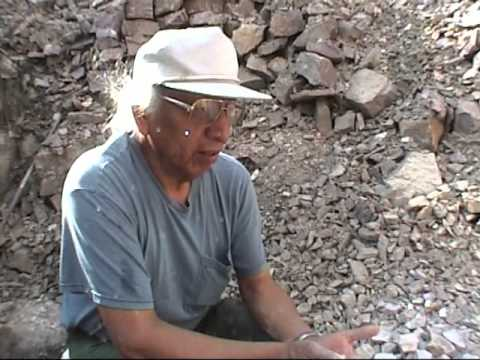 Lakota/Dakota Traditons. Quarrying of the Sacred Red Pipestone.