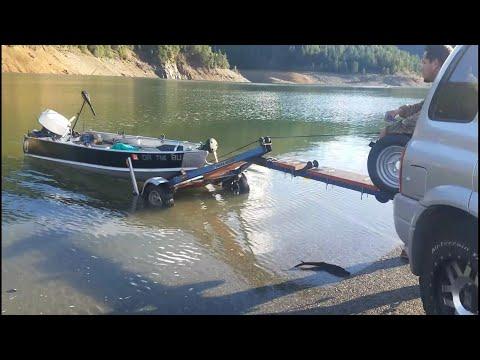 Tilting Boat Trailer