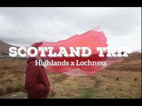Travel Vlog UK Day 3: Trip ke dataran tinggi Scotland dan hunting monster di Loch Ness!