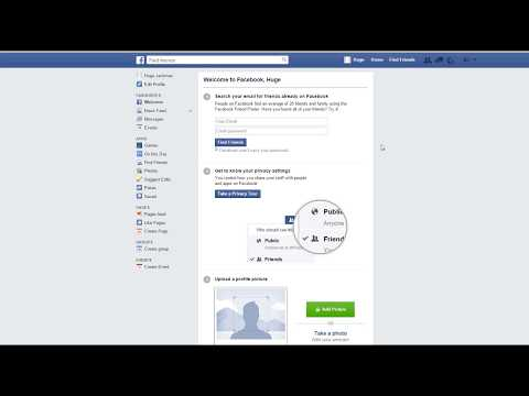 How to remove message button from facebook 2017       YouTube