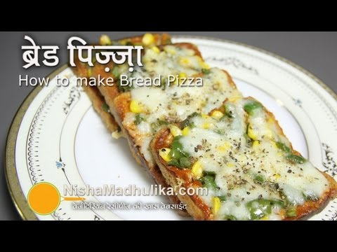 Bread Pizza Recipe -   Quick Bread Pizza Recipe