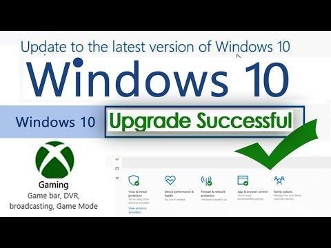Upgrade your windows 10 without lose your applications and files | Windows 10 Game mode activation