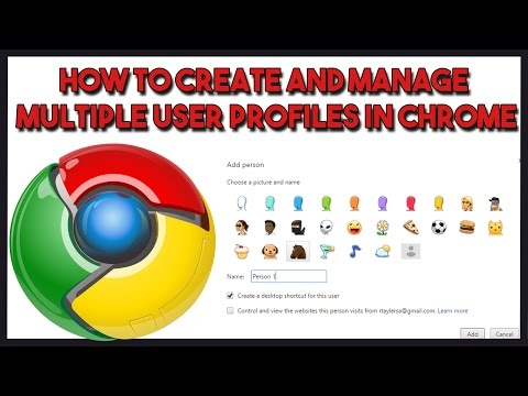 How to create and manage multiple user profiles in Chrome