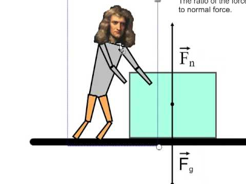 coefficient of kinetic friction